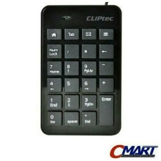 CLiPtec RAPID USB 2.0 Numpad Numeric Keypad Numerik Keyboard - RZK231