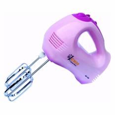 Review Cmos Hand Mixer Ms 107 5 Speed Pink Di Indonesia