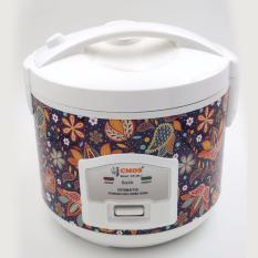 CMOS Rice Cooker-Alat Dapur Panci Nasi-Batik Pattern Budaya Indonesia (CR-25LJ BATIK)