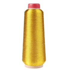 Computer Cross-stitch Embroidery Thread Line Textile Metallic Yarn Woven(Gold) - intl