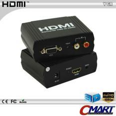 Converter VGA + L/R Audio to HDMI Adapter Konverter - CON-VGFADHDAF