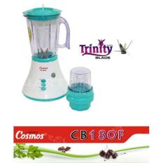 Cosmos CB 180F Blender - Plastik (Lake Blue 500-1000ml)