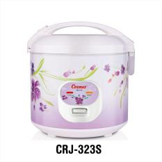 Perbandingan Harga Cosmos Crj 323S Rice Cooker White Purple 1 8 L Di South Sumatra