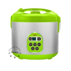 Cosmos Rice Cooker,Magic Com,Magic Jar,Penanak Nasi 2 Liter Digital 5 Fungsi CRJ2301D