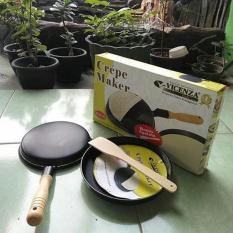 crepe maker - wajan kwalik vicenzaa + spatula TERLARIS