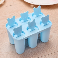 CStore Popsicle Childrens Cetakan untuk Membuat Es Krim Mesin Ice Bar Suitice Fruit Ice Bahan Ice Cream Home Freezer -Intl