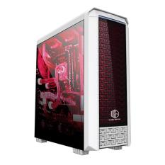 CUBE GAMING FIORAN - Full Acrylic Window - RGB List Bar - 1X12CM LED