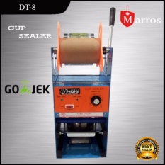 Cup Sealer Eton Mesin Press Gelas Plastik Et D8 Murah - Orange