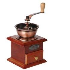 Harga Cyprus Grinder Coffee Mini Manual Gr 0062 Box Kayu Unik Penggiling 0062 Penghalus Kopi Termahal
