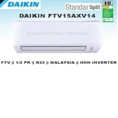 Daikin AC Split 1/2 PK Standard Malaysia R32 Non Inverter - FTV15AXV14