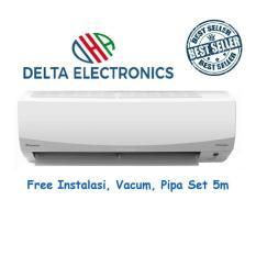 Daikin FTKC50QVM 2PK Smile Curve Inverter + Instal + Vacum + Pipa Set 5M ( Pipa 0,6mm, Kabel, Braket b, Lem )