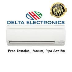 Daikin FTKV35NV Hi-Inverter 1,5PK + Instalasi + Vacum + Pipa Set 5 M - Putih