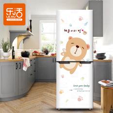 Stiker Kulkas AC Beruang Kecil Lucu