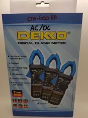 DEKKO 600A CM-600DR ( TRUE RMS ) Clamp Meter AC &DC ( Tang Ampere )