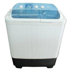 Denpoo DW888 Mesin Cuci 2 Tabung - 7kg - Putih FREE Ongkir Khusus Jabodetabek