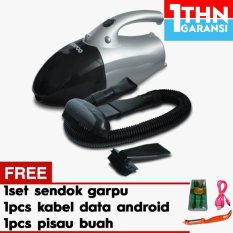 Denpoo Hrv 8003 Vacuum Cleaner + Gratis 1set sendok garpu + 1pc USB Cable Micro + 1pc Pisau Buah