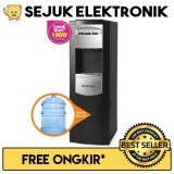 Jual Beli Denpoo Premium Series 1 Dispenser Air Galon Bawah Hitam Silver Jadetabek Only