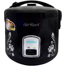 [Diskon] Winn Gas Rice Cooker 1.8 Liter Black AP-R308B Fast Rice Cooker