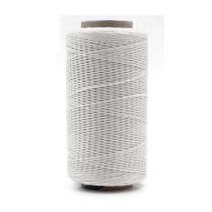 DIY Kerajinan Kulit Jahit Quilting Jahitan Benang Wax Spool untuk Pakaian Sepatu Putih 1 Roll 150D Gaya
