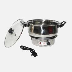Harga Eelic Ehp Q9022 Electric Heating 350W Pot Steanless Steel Multifungsi Dan Spesifikasinya
