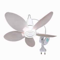 EELIC JM-520 PUTIH Kipas Angin Gantung Mini Fan Knock Down System