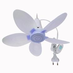 Jual Eelic Kag Jm520 Biru Kipas Angin Gantung Mini Fan 20Watt Knock Down Sistem Eelic Branded