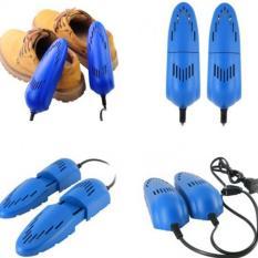 Rimas Electric Multifunction Shoes Dryer 12w 220v - Blue / Biru Pengering Sepatu Elektrik Portable Mudah di Bawa Kemana Saja Berkualitas