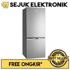 Electrolux EBB 3200 MG Lemari Es / Kulkas 2 Pintu 310 Liter Silver (JADETABEK ONLY)