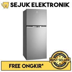 Electrolux ETB 3500 MG Lemari Es / Kulkas 2 Pintu 350 Liter Silver (JADETABEK ONLY)