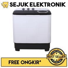 Electrolux WW-TT 871X Mesin Cuci 2 Tabung 7 KG Hitam (JADETABEK ONLY)