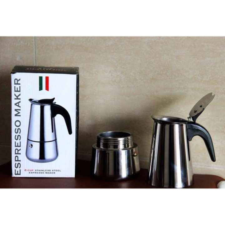 Espresso Coffe Maker 6 Cups