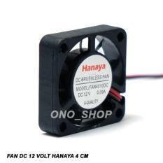 Fan DC 12 Volt Hanaya 4 Cm