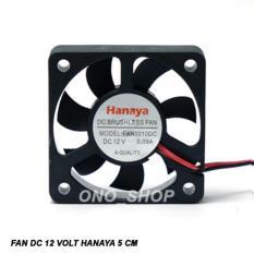 Fan DC 12 Volt Hanaya 5 Cm