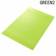 Fancyqube 1 Pcs Multifungsi Anti Bakteri Anti-fouling Anti-frost Waterproof Kulkas Pads Kulkas Mats Green2- INTL