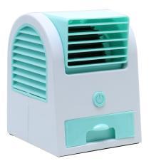 Fragrance Fan USB Mini Fan USB Kipas Angin Aromaterapi Parfum AC mini AC Portable Pendingin Ruangan  Pengharum Ruangan AC Pendingin Kipas Duduk - Hijau