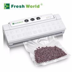 Fresh World Vacuum Sealer - Mesin Pengemas Vakum TVS-2013 (kering/basah)