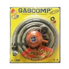 GASCOMP Paket Selang Regulator Gas