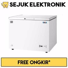 GEA AB-106-R Chest Freezer 102L - Putih - JADETABEK