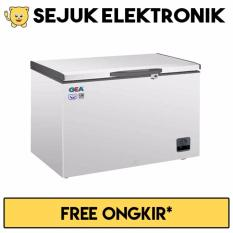 GEA AB-226-R Chest Freezer 220L - Putih (Khusus JADETABEK)