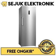 GEA GF-350 Upright Freezer With Drawer 350 Liter Silver- JADETABEK