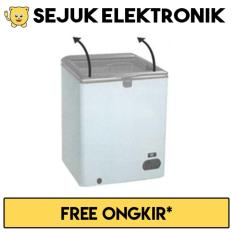 Miliki Segera Gea Sd 100F Chest Freezer Lift Up Glass Door 100L Putih Khusus Jadetabek