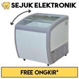 Harga Gea Sd 160By Sliding Curve Glass Freezer Premium Series 160 Liter Jadetabek Only Fullset Murah