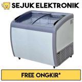 Jual Gea Sd 260By Sliding Curve Glass Freezer Premium Series 260 Liter Jadetabek Only Di Dki Jakarta