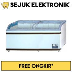 GEA SD-700BY Sliding Curve Glass Freezer Premium Series 700 Liter (KHUSUS JADETABEK)