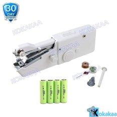 Ecomax Handy Stitch Mesin Jahit Portabel 4 Pcs AA Battery Bundle