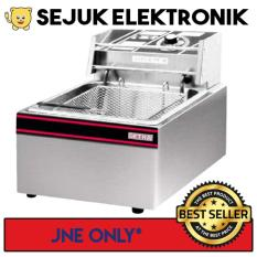 Getra Ef-81 Electric Deep Fryer 1 Tank - 1 Basket - 5.5 Liter By Selka.id.