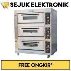 Getra RFL-36SS Gas Baking Oven 90 Kg/Jam (JADETABEK ONLY)