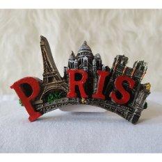 Gloria Bellucci - Magnet Kulkas Paris Tulisan