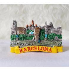 Gloria Bellucci - Magnet kulkas souvenir negara barcelona