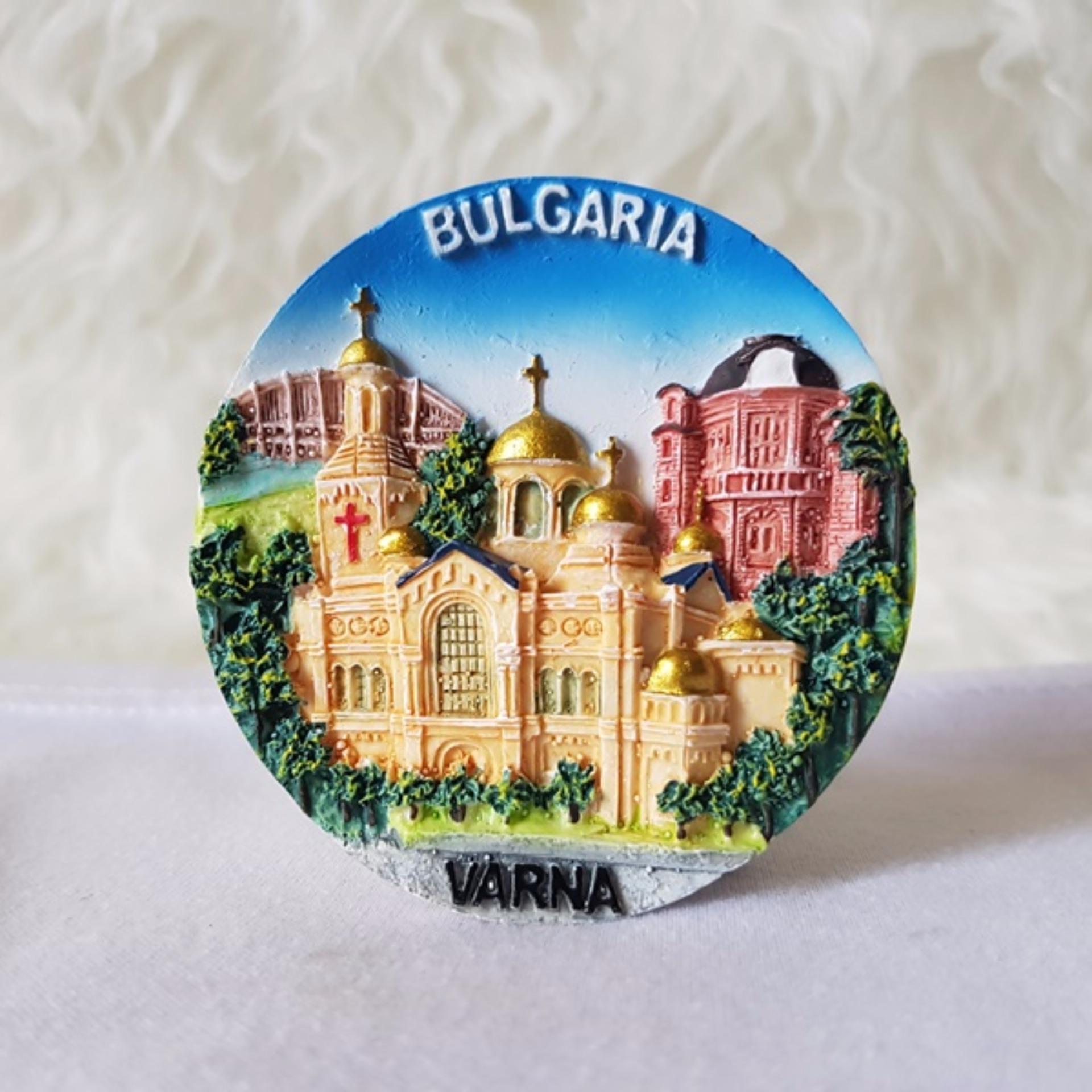 Harga preferensial Gloria Bellucci - Magnet kulkas souvenir negara bulgaria terbaik murah - Hanya Rp38.